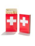 Switzerland matches Stock Images