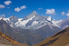 Switzerland - Matterhorn peack, mountain landscape Stock Photo