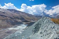 Switzerland - Matterhorn peack, mountain landscape Royalty Free Stock Photo