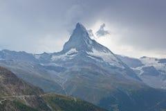 Switzerland - Matterhorn peack, mountain landscape Royalty Free Stock Images