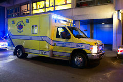 Switzerland mecial ambulance Royalty Free Stock Photo