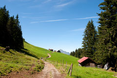 Switzerland in the mountains Stock Images