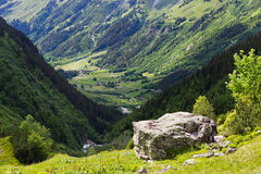 Switzerland mountains in summer Royalty Free Stock Image