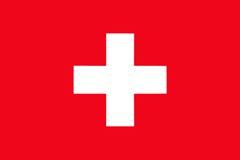 Switzerland National Flag Royalty Free Stock Image