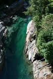 Switzerland rivers Royalty Free Stock Photography