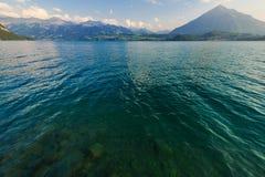 Switzerland Scenic Lake Thun Stock Photos