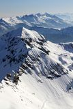 Switzerland Ski Slopes Stock Images