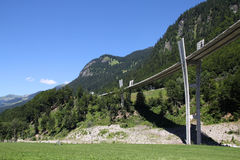 Switzerland - Sunniberg Bridge Royalty Free Stock Photos