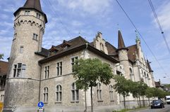 Switzerland: exhibition in the swiss national museum in Zürich city stock image