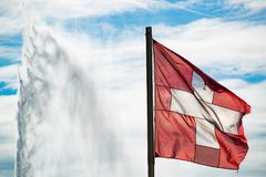 Switzerland symbols Stock Photo