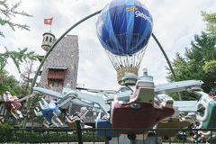 Switzerland themed area - Europa Park in Rust, Germany Royalty Free Stock Photo