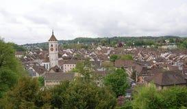 Switzerland, views of the city Stein am Rheine Royalty Free Stock Photos