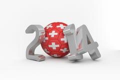 Switzerland world cup 2014 Stock Photo
