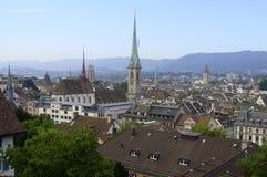 switzerland zurich Arkivbild