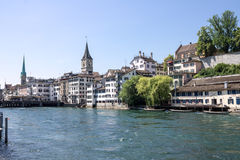 switzerland zurich Royaltyfri Foto