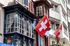 Switzerland, zurich, augustinergasse Stock Photos