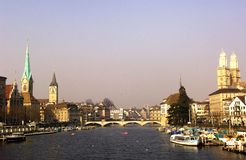 Switzerland, Zurich: city view Stock Photo