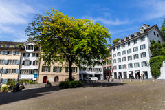 Switzerland, zurich, munster square Royalty Free Stock Photography