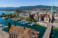 Switzerland, zurich,. View of the city Stock Photography