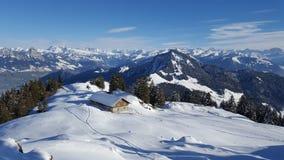 Switzerlands美好的边 免版税库存图片