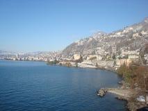 Swizerland. A beautiful Lake Lucerne Stock Image
