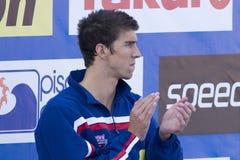 SWM: Światowy Aquatics mistrzostwo - ceremonia mężczyzna 200m motyl Zdjęcie Royalty Free