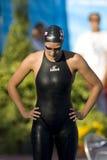 SWM: Światowy Aquatics mistrzostwo - kobiet 50m żabka semi zdjęcia royalty free