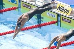 SWM: Światowy Aquatics mistrzostwo - mężczyzna 200m żabka zdjęcie royalty free
