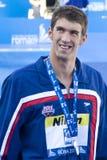 SWM: Światowy Aquatics mistrzostwo - mężczyzna 200m stylu wolnego finał Obrazy Stock