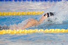 SWM: Πρωτάθλημα παγκόσμιου Aquatics - τελικό ύπτιου των ατόμων 200m στοκ φωτογραφία με δικαίωμα ελεύθερης χρήσης