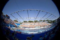 SWM :世界水上冠军-妇女50m蝴蝶决赛 免版税库存图片