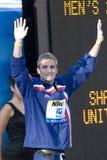 SWM :世界水上冠军-精神200m个体混杂的人群 库存图片