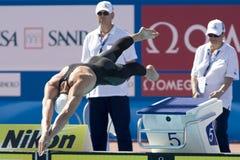 SWM: Campeonato de los Aquatics del mundo Fotos de archivo libres de regalías