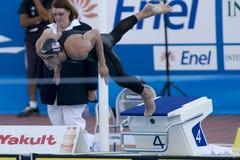 SWM: Campeonato de los Aquatics del mundo - de los 200m del estilo libre fina para hombre semi Fotografía de archivo libre de regalías