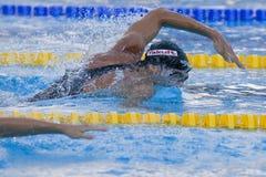 SWM: Campeonato de los Aquatics del mundo - de los 200m del estilo libre fina para hombre semi Fotos de archivo libres de regalías