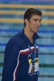 SWM: Campeonato de los Aquatics del mundo - final para hombre del relevo de 4 del x 100m Fotos de archivo