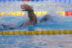 SWM: Campeonato de los Aquatics del mundo - final para mujer del estilo libre de los 200m Foto de archivo