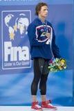 SWM: Campeonato de los Aquatics del mundo - relevo para hombre del individuo de los 200m Foto de archivo libre de regalías