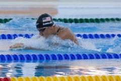 SWM: Campeonato dos Aquatics do mundo - bruços semi f dos homens 100m Fotos de Stock Royalty Free