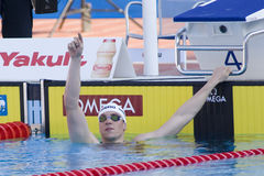 SWM: Campeonato dos Aquatics do mundo - final do estilo livre dos homens 400m Imagem de Stock Royalty Free