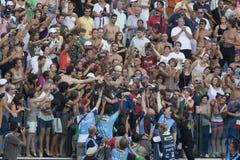 SWM: Campionato di Aquatics del mondo - finale della farfalla del 100m degli uomini Fotografia Stock Libera da Diritti