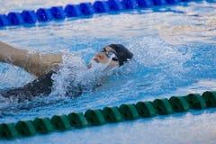 SWM: Campionato di Aquatics del mondo - finale di dorso dei 200m delle donne Immagine Stock Libera da Diritti
