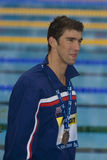 SWM: Campionato di Aquatics del mondo - finale di miscuglio dei 4 x del 100m degli uomini Fotografie Stock