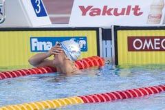 SWM: Campionato di Aquatics del mondo - finale di stile libero dei 200m delle donne Immagine Stock Libera da Diritti