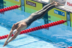 SWM : Championnat d'Aquatics du monde - brasse de 200m des hommes Photos libres de droits