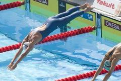 SWM : Championnat d'Aquatics du monde - breastroke de 200m des femmes Photo libre de droits
