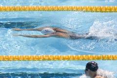 SWM : Championnat d'Aquatics du monde - breaststrokeSWM de 200m des hommes : OE Image stock