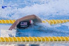 SWM : Championnat d'Aquatics du monde - des hommes de 200m de style libre fina semi Photo libre de droits