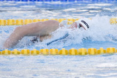 SWM : Championnat d'Aquatics du monde - des hommes de 200m de style libre fina semi Photo stock