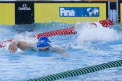 SWM : Championnat d'Aquatics du monde - des hommes de 200m de style libre fina semi Photographie stock